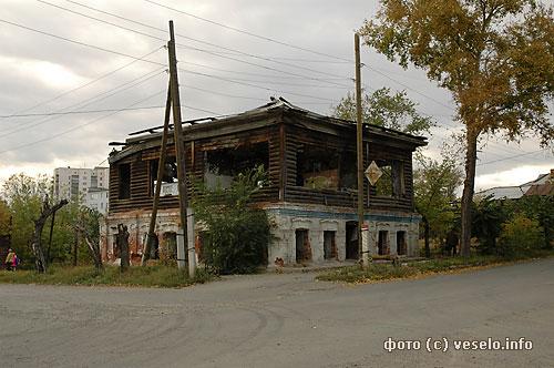 Допотопный дом в Кургане